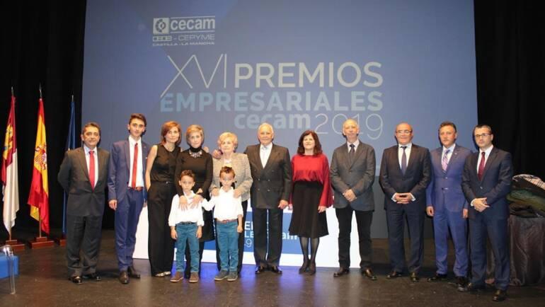 XVI PREMIOS EMPRESARIALES CECAM 2019