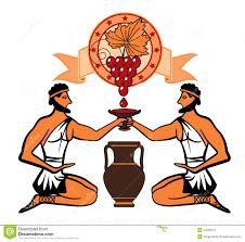 REFLEXIONES SOBRE EL VINO: la historia griega
