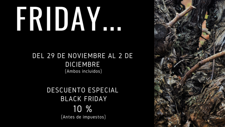 PREPARADOS, LISTOS….. ¡BLACK FRIDAY!