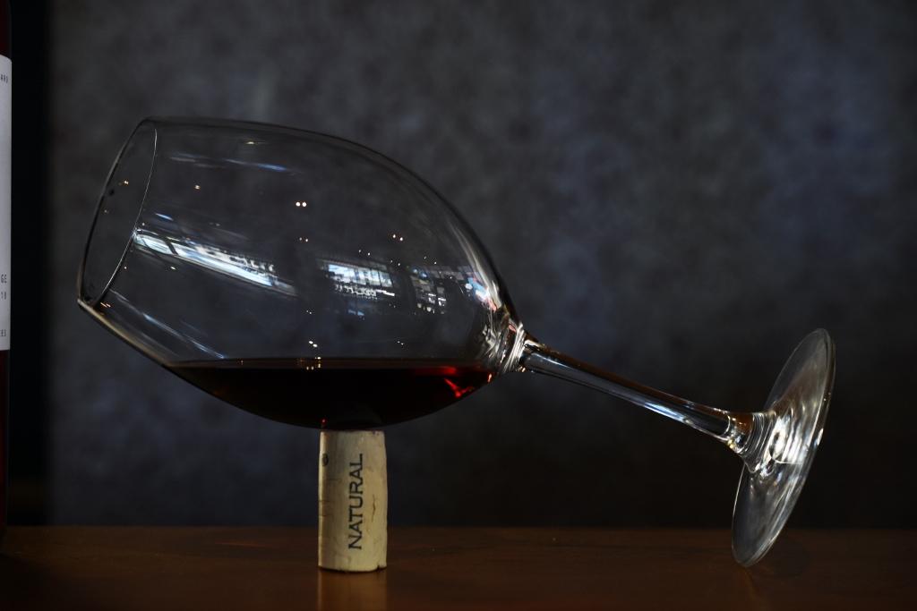 El vino… con moderación.